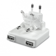 Macally - AC Charger 2-port USB (2A)