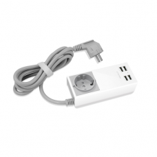 Macally - AC Charger Unistrip2 (4-port USB)