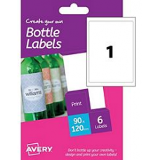 Avery - A6 Bottle Labels HBL01 (1x)