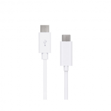 Artwizz - Cabo 2.0 USB-C - microUSB (white, 1m)